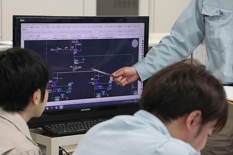 東和電機技術部 若手技術者育成