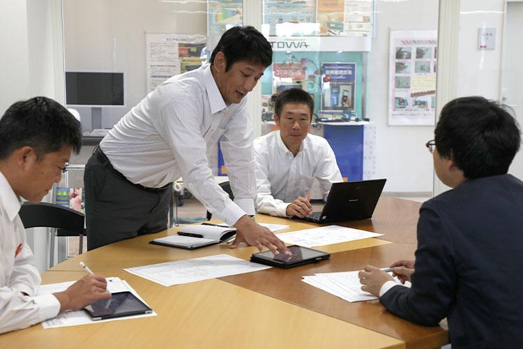 東和電機 3本部連携 全社営業